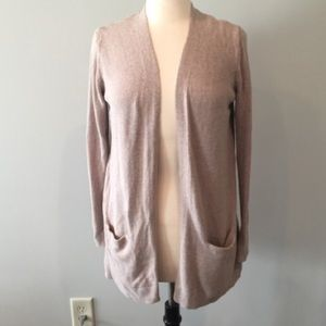 Beige old navy cardigan